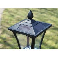 Wholesale 6 Ultra Bright Solar Post Lights 1.2 M Solar Powered Lamp Post Lights from china suppliers