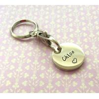 Buy cheap Custom Shopping Trolley Token Keyring / Personalised Key Fobs For Store from wholesalers
