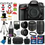 Buy cheap Cheap Nikon D7200 Digital SLR Camera +4 Lens 18-55mm VR 70-300 +32GB Full Value Bundle from wholesalers