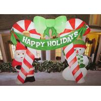 Buy cheap Advertisement / Advertising Inflatables Outdoor Inflatable Christmas Grinch from wholesalers