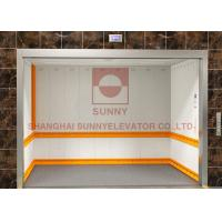 Buy cheap Stable and Safe Machine Room Freight Elevator Hoist Furniture Elevator from wholesalers