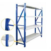 Buy cheap Medium Duty Warehouse Shelving Rack Customized Color And Dimension from wholesalers
