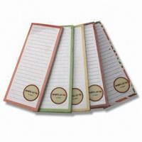 Buy cheap Magnetic List Pad/Sticky Notes, Customized Designs and Sizes are Accepted from wholesalers