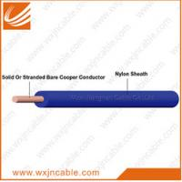 Wholesale 300/500V 90℃ PVC Insulated Nylon Sheathed Rigid Conductor Cable from china suppliers