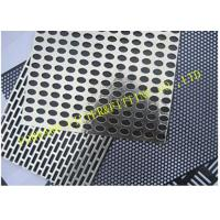 Fancy Perforated Metal Pipe Plate Hole Pattern Options ASTM SERIES Manufactures