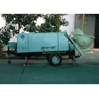 Buy cheap Trailer Type Hydraulic Concrete Pump  For Foamed Cement / Fine Aggregate Concrete from wholesalers