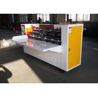Buy cheap Slitting , Creasing Line Carton Making Machine Creasing Line Without Crack from wholesalers