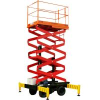 Buy cheap Mobile Elevated Work Platform Aluminum And Explosion Proof Type from wholesalers