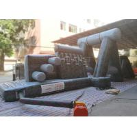 Buy cheap Giant Inflatable Obstacle Course 0.55 Mm PVC Tarpaulin For Entertainment from wholesalers