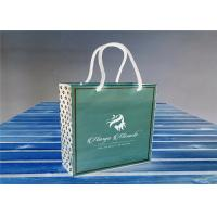 Buy cheap Recyclable Custom Paper Kraft Gift Bags Flexo Or Gravure Printing from wholesalers