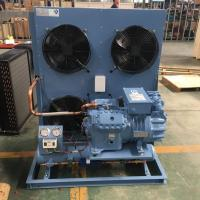 Buy cheap 20HP Bitzer Semi Hermetic Compressor Fin Type Air Cooled Condensing Unit from wholesalers