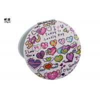 Buy cheap Double Sided Lovely Small Compact Mirror For Men Printing Carton Glass Mirror Sheet from wholesalers