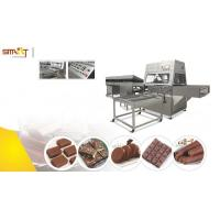 Buy cheap Small Chocolate Bar Manufacturing Equipment / Chocolate Coating Machine from wholesalers