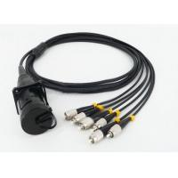 Buy cheap Military Field Fiber Optic Cable Assembly Optic To LC/SC/ST/FC Cable Connector 2/4/6 Fibers from wholesalers
