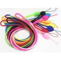 Buy cheap FDA sloid silicone ropes phones mobile ropes elastic silicone strap sling from wholesalers