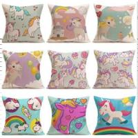 Buy cheap Home Sofa Decor Linen Cotton Throw Pillow Case Square Cushion Cover custom throw pillow digital printing outdoor sofa cu from wholesalers