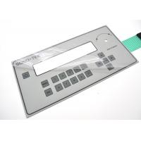 Buy cheap Anti Corrosion Membrane Switch Panel With 3M Permanent Acrylic Adhesive product