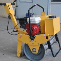 FYL-D600 New walk behind 5.5HP single drum vibration road roller Manufactures