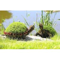 Wholesale Cute Artificial Animal Topiary Plastic Living Sculpture Art with UV Plants for Park from china suppliers