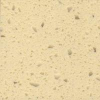 Buy cheap Artificial light brown quartz stone kitchen countertop marble Slab from wholesalers