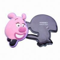 Buy cheap Promotional soft PVC 3D fridge magnet, made of eco-friendly soft PVC with 3D effect process from wholesalers