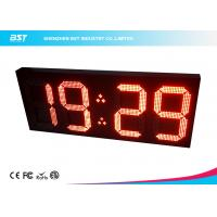 China Big 18 Inch Wireless Digital Clock Led Display Module By Remote Control on sale