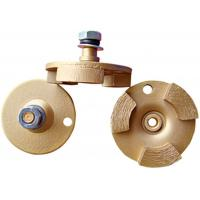 Buy cheap Three Segments Diamond Grinding Disc Concrete Grinder Wheel For Leveling from wholesalers