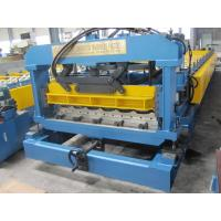 1250mm width Monterrey Metal Tile Roll Forming Machine Electric Controlling System