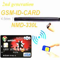 Buy cheap 2 in 1 GSM Transmitter GSM Credit Card with Bluetooth function built-in mic micro covert 218 earpiece 2-way talking from wholesalers