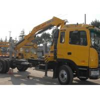 Buy cheap Mobile Commercial Knuckle Boom Truck Crane For Safety Transport from wholesalers