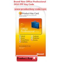Buy cheap Microsoft Office Product Activation Key For Brand new Office Professional 2010 Product Key FPP 2 PCs from wholesalers