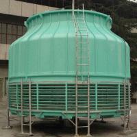 Buy cheap Round-shaped FRP Cooling Tower with Low Noise, Suitable for Industrial Water Air Conditioner  from wholesalers