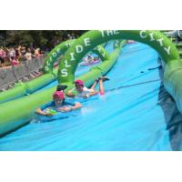 Buy cheap Super quality 300m inflatable slide the city, inflatable water slip n city slide for adult from wholesalers