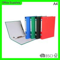 Buy cheap Office&school supplies PP lever Arch 512 A4 File box with double clips from wholesalers