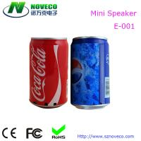 Buy cheap Hot Selling Coca Cola Mini Speaker with TF Card Usb port from wholesalers