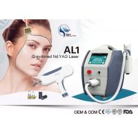 Buy cheap 1064nm 532nm Q-Switched Nd Yag Laser Machine For Tattoo Removal / Pigment Removal from wholesalers