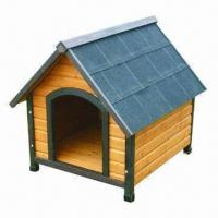 Buy cheap Dog Kennel, Made of Chinese Fir Wood Material, Sized 78 x 88 x 81cm from wholesalers