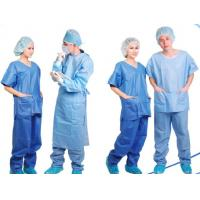 Buy cheap Disposable Patient Exam Gowns , Disposable Medical Protective Clothing  from wholesalers