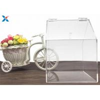 Wholesale House Shape Big Clear Acrylic Candy Box Used In Retail Store from china suppliers