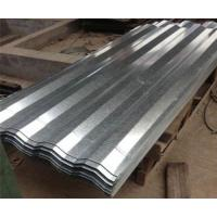 Buy cheap 508mm Coil ID Corrugated Galvanized Sheet Metal Chromate Surface Treatment from wholesalers