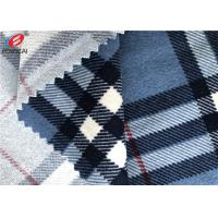 Buy cheap 100% Polyester Tricot Knit Fabric Upholstery Bedding Printed Pattern Velboa Fabric from wholesalers