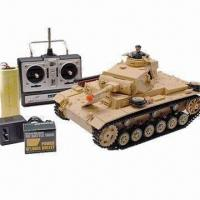 Buy cheap 1:16 RC Battle Tank, Comes in Tauchpanzer 3 German Style from wholesalers