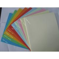 Buy cheap hot sale 80g A4 100sheets/pack color copy paper for office printing from wholesalers