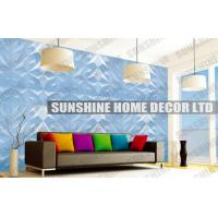 Buy cheap Fire Retardant 3D Wall Panel , Home Decor Plastic 3D Decorative Ceiling Panel from wholesalers