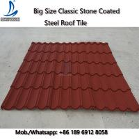 Buy cheap 50-Years Warranty Classical Multi-Step Decras Stone Coated Roof Tiles Prices, Cheap Zinc Roof Tiles Zimbabwe from wholesalers