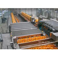 Buy cheap 5T / H Complete Juice Production Line Industrial Juice Extractor from wholesalers