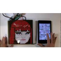 Buy cheap SparkFun or Adafruit 32x32 RGB LED Panel Driver Tutorial 16 data signals connect + 5VDC refreshed to display an image from wholesalers