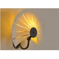 Buy cheap Wooden Led Wall Strip Lights Art Living Room Corridor Background Brown 111V-240V product