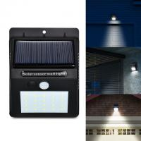 Buy cheap 3 Modes Solar Powered LED Wall Light , Solar Powered Security Light With Motion Sensor from wholesalers