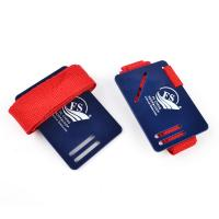 Buy cheap Nylon Webbing Straps Special New Design Red Webbing Book Straps with card from wholesalers